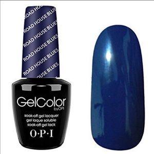 OPI Gelcolor roadhouse blues gel polish